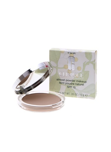 Clinique Clinique Almost Powder Makeup SPF15 01 Fair Pudra Renksiz